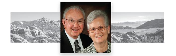 Elder and Sister Benjamin