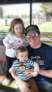 Pathway Advising Manager Steve Thomas and his children