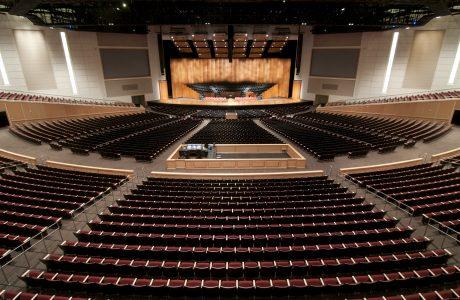 BYU-Idaho I-Center with 15,000 seats.