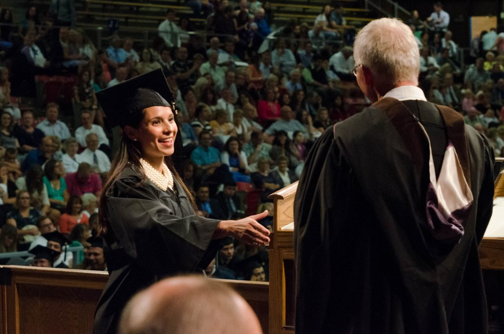 Carolina earned a bachelor's degree in business management in July 2015.