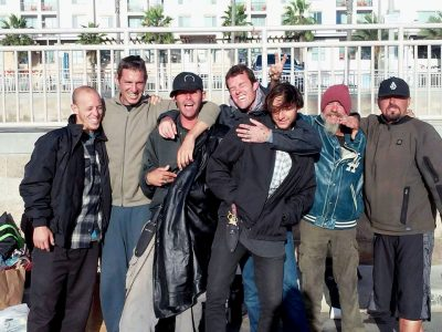 Some of Julie's friends that she's had the privilege of serving in Huntington Beach.