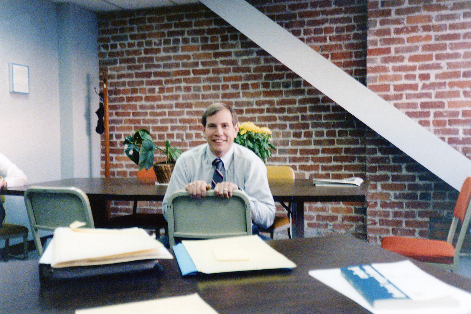 Elder Nielsen working in the San Francisco District Attorney's office for the Family Support Bureau