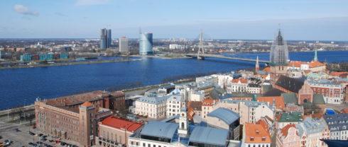 Riga, Latvia Waterway