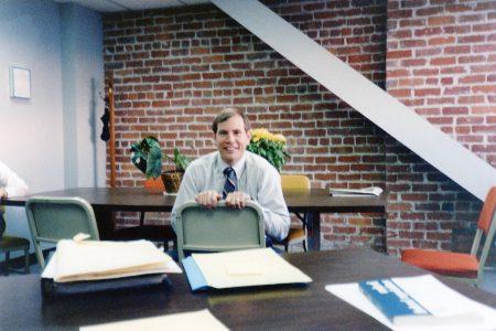 Elder Nielsen working in San Francisco